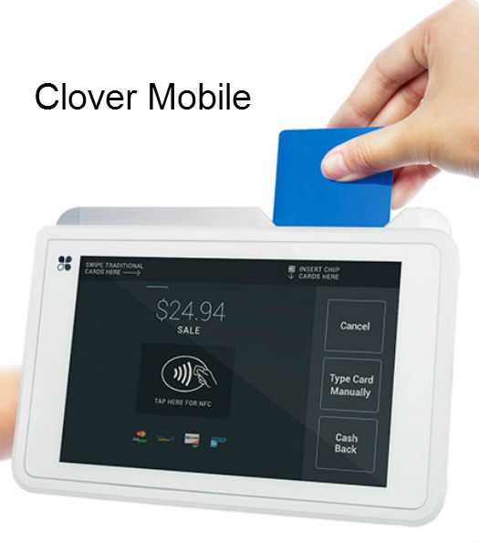 Clover mobile merchant services point of sale stations one payment reheart Gallery